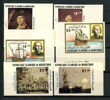 Mauritania 1981 Mi. 731-736 Nuovo ** 100% Non dentellati Christophe Colomb