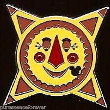 Disney Pin: WDW Hidden Mickey 2011 - Retro Icons: Gran Fiesta Tour Sun Icon