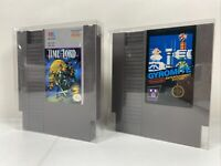 Time & Lord + Gyromite (Nintendo Entertainment System) Bundle Of 2 NES Games