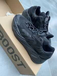Adidas Yeezy Boost 700 MNVN Triple Black Size UK 9