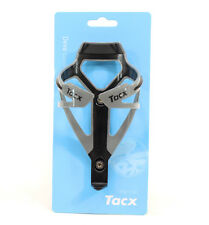 TACX Deva Bicycle Cycling Water Bottle Cage 29 Grams, Silver/Gray