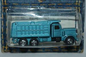 Tomy Pocketcar Big Rig Dump Truck #205-F63 Blue