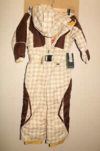 """NEW NWT DRAGONS BOYS sz 5 17.5""""L heavy/thick insulated Snow/Snowboard Snowsuit"""