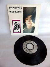 vinyle 45 tours BOY GEORGE to be reborn  45t vintage audio