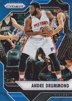 2016-17 Panini Prizm Prizms Blue Wave #201 Andre Drummond 89/99 Detroit Pistons