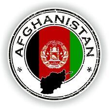Afghanistan Sello Sello Pegatina para Coche Camión Portátil Tablet Nevera Puerta
