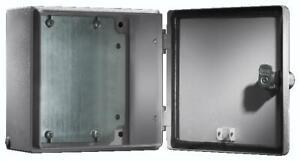 Schaltschrank Rittal IP66 Stahl Elektrobox ver Größen mit Montageplatte mit Tür