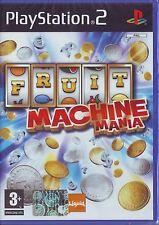 FRUIT MACHINE MANIA (2008) PS2 PAL ITA ORIGINALE NUOVO RISIGILLATO*