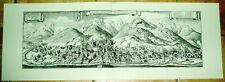 Eisenerz: alte Ansicht Merian Druck Stich 1650 Panorama