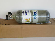 Drager 4500psi SCBA tank 45 minute carbon wrapped Unused 2008 mfg date 65.5 SCF