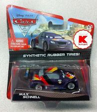 DISNEY PIXAR CARS 2 - MAX SCHNELL with RUBBER TIRES Kmart Exclusive MIP