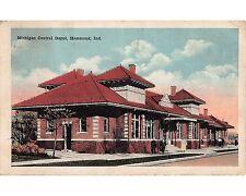 ST545:  Michigan Central Depot HAMMOND IN Circa 1920s Postcard