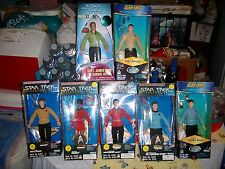 STAR TREK .. PLAYMATE COLLECTION SERIES WITH CLOCK..FREE SHIPPING