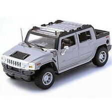 HUMMER H2 SUT Concept MAISTO SPECIAL EDITION Diecast 1:27 Silver FREE SHIPPING