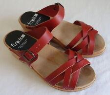 Funkis Buckle Solid Sandals & Flip Flops for Women