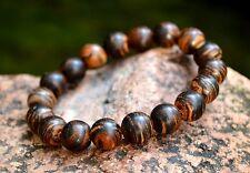 Zebra Agarwood Aloeswood Aetoxylon Spp.Bracelet 12 MM
