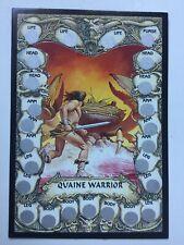Steve Jackson's Battle Trading Card Merlin 17 Quaine Warrior