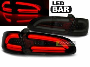 LTI LED Tail Lights for Seat IBIZA 6L 02-08 Smoke Red LHD LDSE19-ED XINO