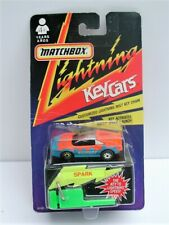 1991 Matchbox Lightning Key Car Ferrari - SPARK - MOC