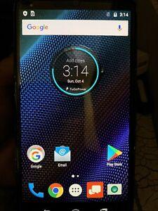 Verizon Wireless Droid Turbo XT1254 64GB Android Smartphone Ballistic Nylon +Box