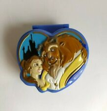 Vintage Disney Polly Pocket Beauty and the Beast Playset