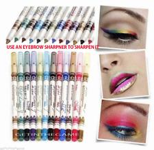 12 Color Glitter Eyeshadow Lip EyeLiner Eye Shadow Pencil Shimmer Pen Makeup Set