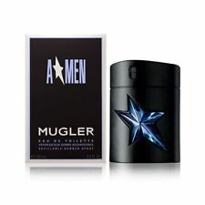 Thierry Mugler A*men Refillable Rubber Flask 100ml EDT Spray New Boxed Sealed