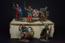 Tin Soldier Set Vikings gift box 5 figure hand painted 54mm