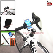 Heavy Duty A-Grade Motor Bike Bicycle Universal Mobile Cell Mount + Stylus Pen