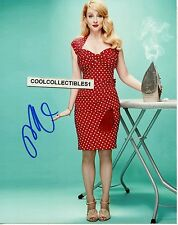"MELISSA RAUCH ""THE BIG BANG THEORY"" IN PERSON SIGNED 8X10 COLOR PHOTO 5 ""PROOF"""