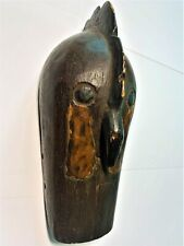 Old Hand-Carved African 'Dogon' Animal Mask - Mali