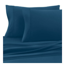 Sheex Active Comfort Turquoise King Size Pillowcases Set of 2 NEW Performance