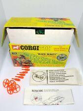 vintage corgi 268 The Green Hornet black beauty Nr Mint boxed + display missiles