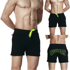 BLACK & L New Men Basic Beach Short Pant Casual Sport Short Surf Running Trouser