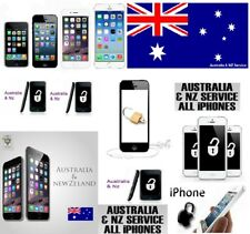 Australia & NZ (New Zealand) Network iPhone Factory Unlock All Models Supported