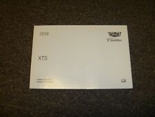 2018 Cadillac XTS Owner Manual User Guide Luxury Platinum V-Sport Twin Turbo