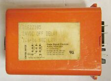 EAGLE SIGNAL 81E2Z105 1.6-16 Second 24 VDC Time Delay Relay Timer