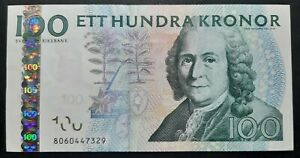 Svezia 100 kronor 2006(2010) SPL+/XF+  A-07