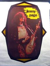 1976 VTG Led Zeppelin Jimmy Page Song Remains Same tour T-Shirt Iron-On transfer