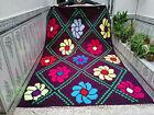 Moroccan Handmade Berber Rug Beni Ourain Tribal Carpet Azilal Vintage Wool Rug