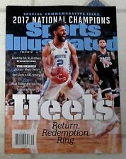 No Label SPORTS Illustrated 2017 NATIONAL CHAMPIONS Special Edition UNC HEELS