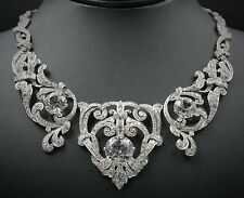 Mae West Celebrity Owned Platinum 23ct Diamond Necklace Bracelet Suite CO169
