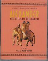 Valerio Massimo Manfredi Alexander Ends Of Earth 2 Cassette Audio Book Abridged