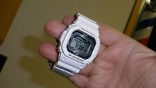 casio g shock GLX-5600 new battery tide watch mens diver alarm white g-lide
