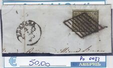 ANTICHI STATI - PONTIFICIO - P0033 - NR. 3A USATO - CATALOGO 145€