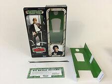 "Custom Vintage Star Wars ESB 12"" Han Solo Bespin BOX + inserti"
