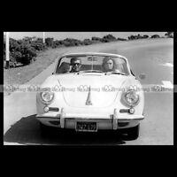 #pha.015084 Photo STEVE MCQUEEN & PORSCHE 356 Car Auto