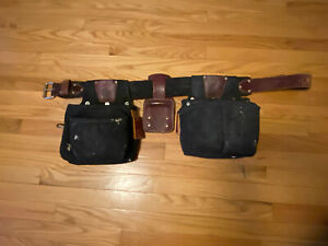 LH Occidental Finisher Tool Bags. Medium Belt. Used W/ Decades of life Left.