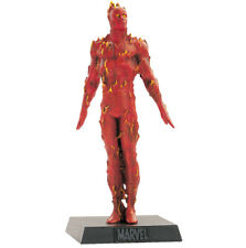 Classic Marvel Figurine Collection # 18 Human Torch + Magazine