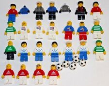 LEGO Lot - Soccer, Football Minifigures & Balls - Adidas, USA Nationals, Goalies